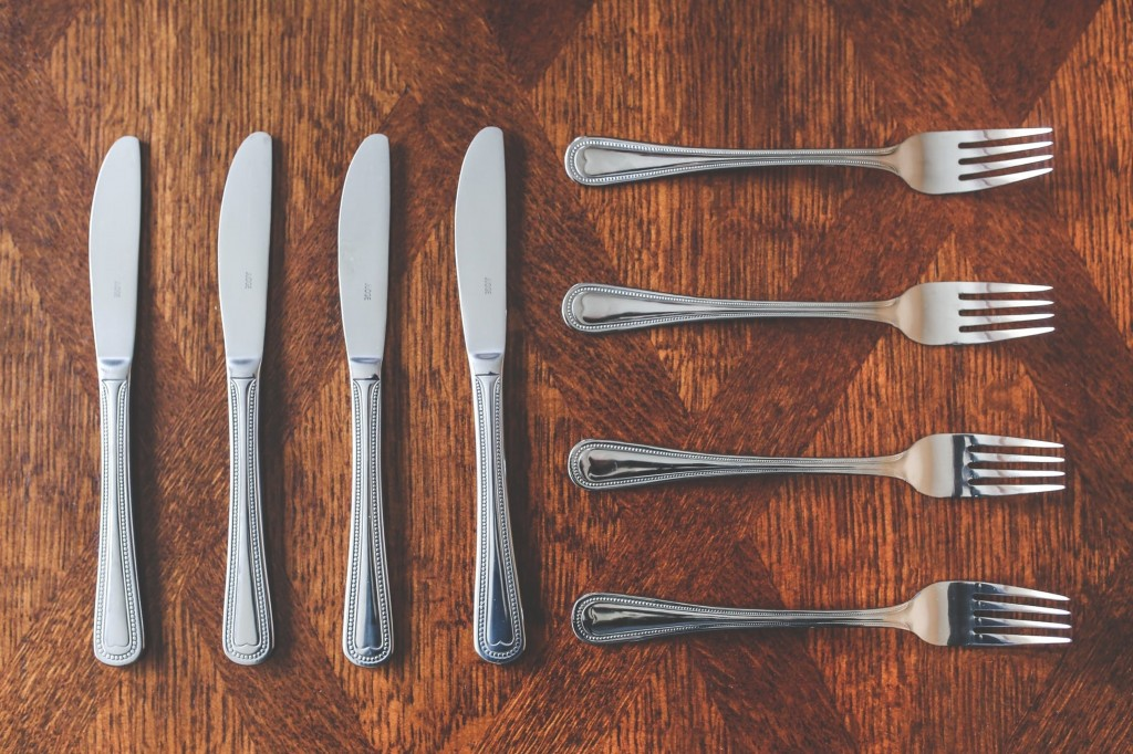 Sure, you can buy silverware anytime, but bringing your old ones sure do save money.
